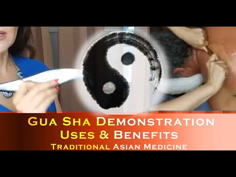 Gua Sha - Treating the Strong Man - Shoulders