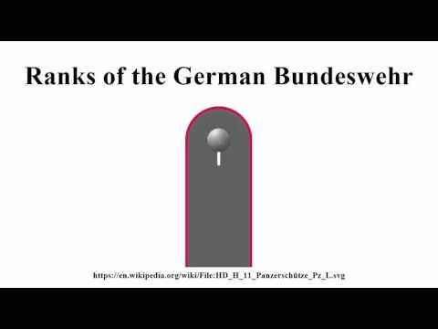 Ranks of the German Bundeswehr