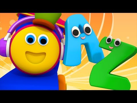 A To Z Songs | Learning Street With Bob The Train | Alphabet Songs For Toddlers | Cartoon by Kids Tv