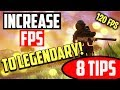How to Make Fortnite Run Faster - 8 TIPS! BEST FPS 2018