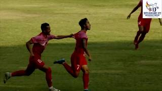 SAG FOOTBALL NEPAL VS BHUTAN GOAL HIGHLIGHTS