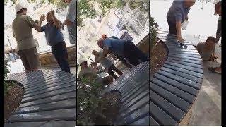 Приключения араба в Баку или как араб упал в люк. Bakıda ərəb lyuka necə düşdü