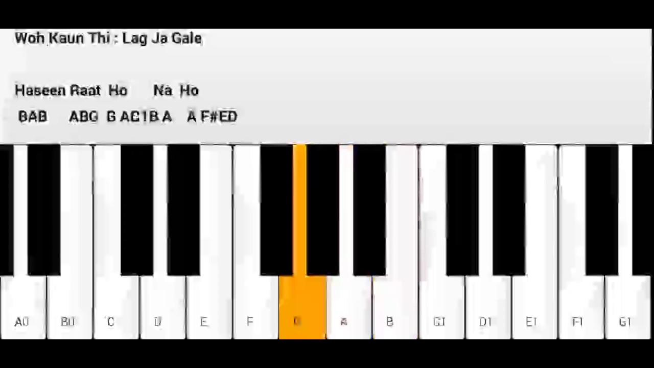 Lag ja gale ke phir yeh piano youtube lag ja gale ke phir yeh piano hexwebz Images