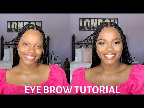 easy eyebrow tutorial beginner friendly  youtube