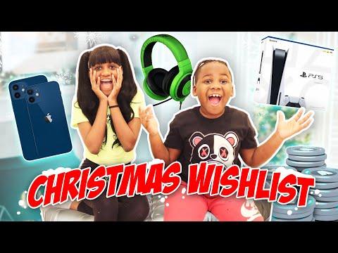 Yaya and Dj Christmas Wishlist 2020