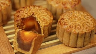 How to make mooncake with salted egg yolk - Recipe By ZaTaYaYummy