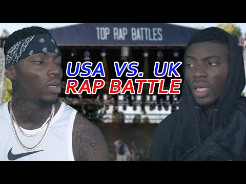 TOP RAP BATTLES | London vs. Chicago rapper | Full Video