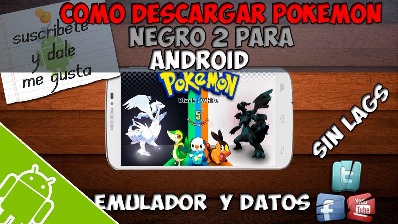 descargar pokemon negro 2 español zip