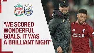 Klopp's Huddersfield reaction | 'It was a brilliant night' | Liverpool 5-0 Huddersfield