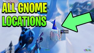 """Fortnite """"SEARCH CHILLY GNOMES"""" LOCATIONS! Fortnite WEEK 6 Challenges SEASON 7 (All 7 Locations)"""