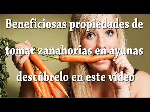 Beneficios de tomar zanahorias en ayunas; propiedades