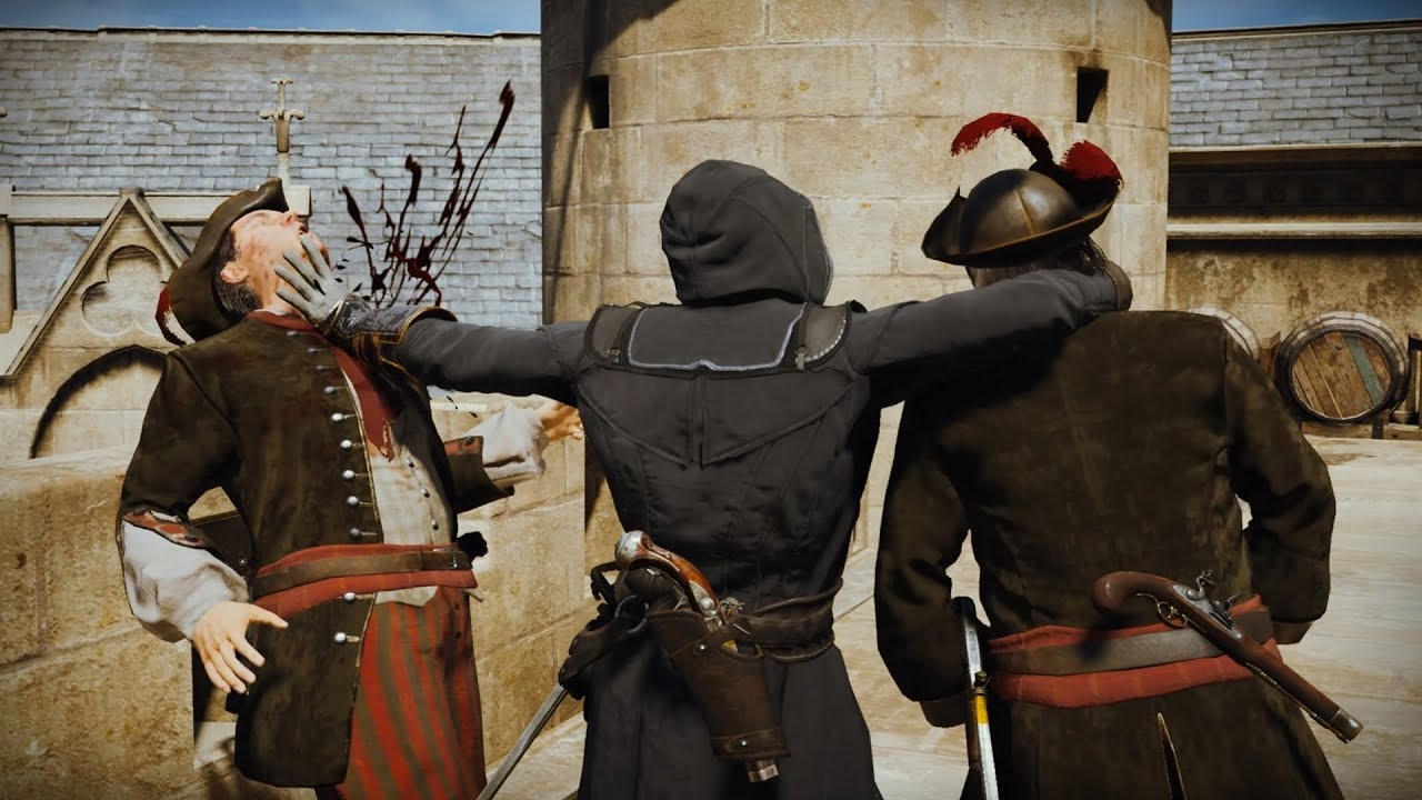 Assassin's Creed Unity Stealth Kills (Eliminate Rouille) thumbnail