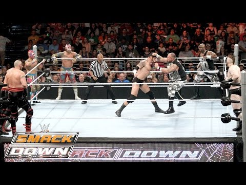 Tag Team Terror 4 Corners Match: SmackDown – 29. Oktober 2015
