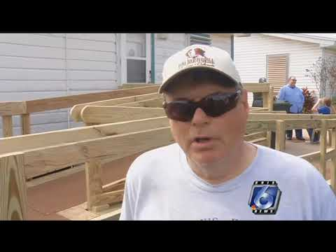 Local ministry builds free wheelchair ramps for those in need