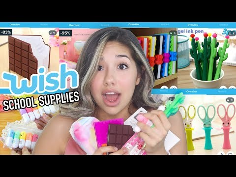 Back to School Supplies From Wish!