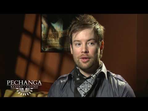 Pechanga Casino - David Cook Interview - NYE 2010