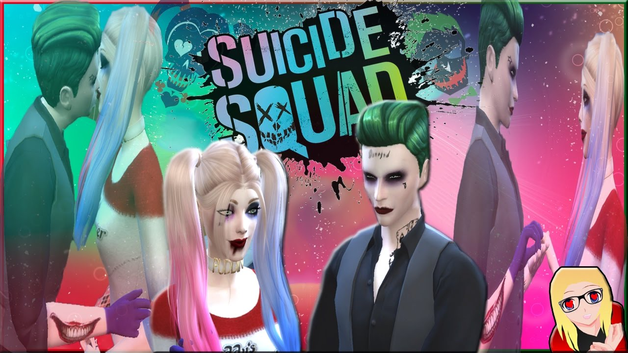 Je Creer Harley Quinn Joker Suicide Squad Youtube