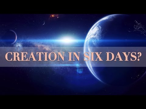 Q&A: How Was The World Created in Six Days? - YouTube