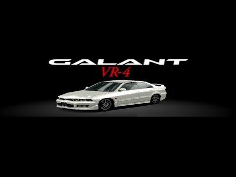 Gran Turismo 2 - Mitsubishi Galant VR-4 HD Gameplay