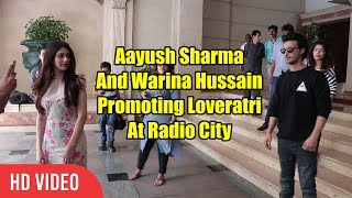 Baixar The Loveratri Couple Aayush And Warina Spotted At Radio City | Promoting Loveratri