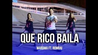 Que Rico Baila - Rombai Ft. Marama | KF Dance | Coreografía Zumba®