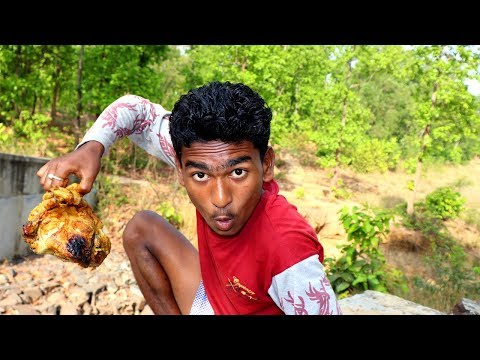 Best process to Cooked Chicken in Mud | Village Style Chicken Cooking in Forest
