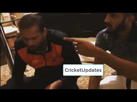 Rashid Khan And Yousaf Pathan  Funny Movements In Dressing Room IPL 2019