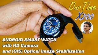 Video Android Smartwatch with HD Camera!! OurTime X200 Review download MP3, 3GP, MP4, WEBM, AVI, FLV Juli 2018