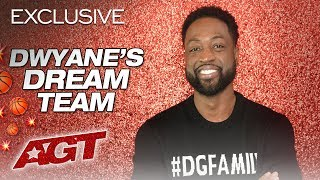 Dwyane Wade Builds His Basketball Dream Team - America's Got Talent 2019