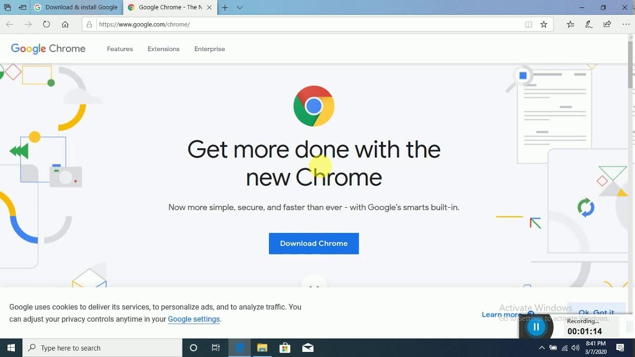 google chrome download windows 10 - YouTube