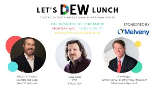 Let's DEW Lunch Webinar with O'Melveny & Myers, STAGE TEN, and Next 10 Ventures (April 6, 2020)