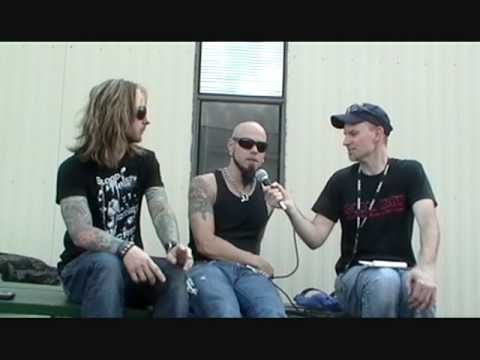 Drowning Pool 2009 Interview GlamMetal.com