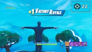 "I BEAT MY PERSONAL RECORD! 22 KILL ""SOLO SQUAD"" WIN in SEASON 7 Fortnite JOHN WICK SKIN GAMEPLAY"