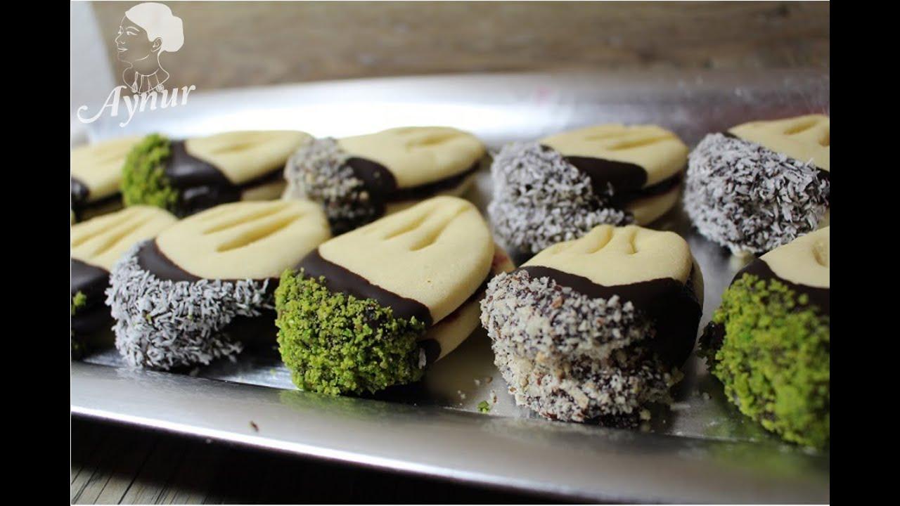 t rkische kekse mit marmelade f llung orjinal pastane kurabiyesi meinerezepte youtube. Black Bedroom Furniture Sets. Home Design Ideas