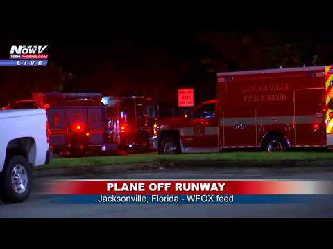 PLANE OFF RUNWAY: All passengers safely accounted for in Jacksonville, FL