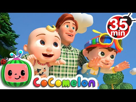 Father and Sons Song  + More Nursery Rhymes & Kids Songs - CoComelon