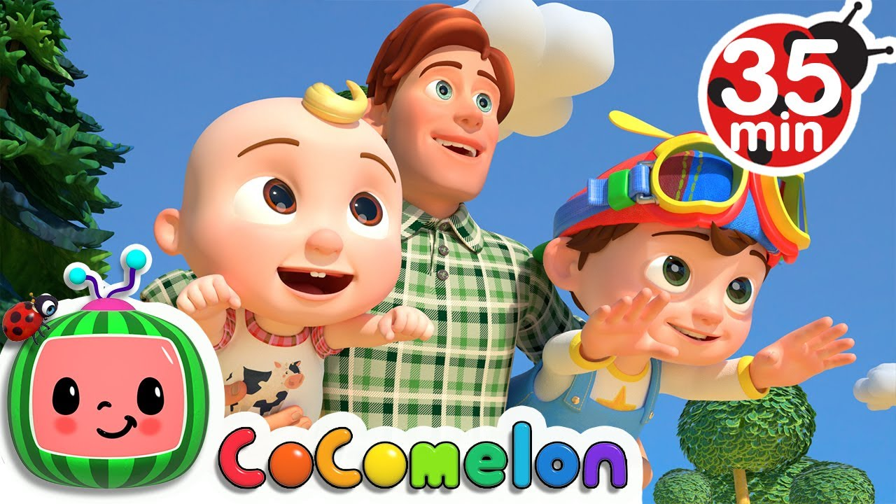 Download Father and Sons Song  + More Nursery Rhymes & Kids Songs - CoComelon