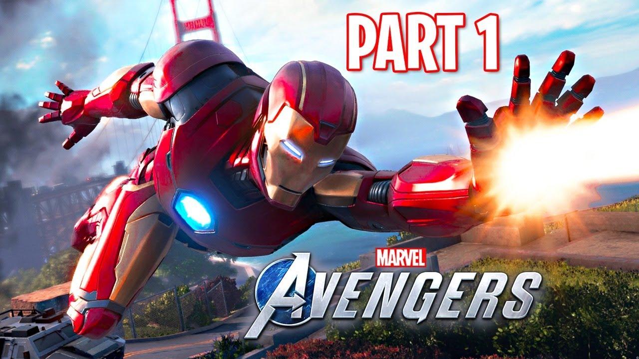 SAVE THE AVENGERS!! (Marvel's Avengers, Part 1)