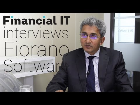 Financial IT interviews Atul Saini, CEO of Fiorano Software
