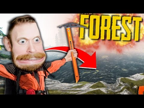 2 FRIENDS LOST IN GIANT SINKHOLE!! • The Forest Co-op - Part 7 (Alpha)