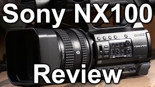 Review: Sony HXR NX100 camcorder