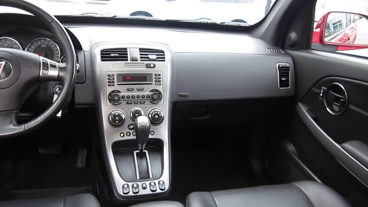 2006 Pontiac Torrent Fever Red Stock K1400371 Interior