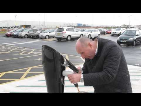 Using the new Type 2 EV charging points