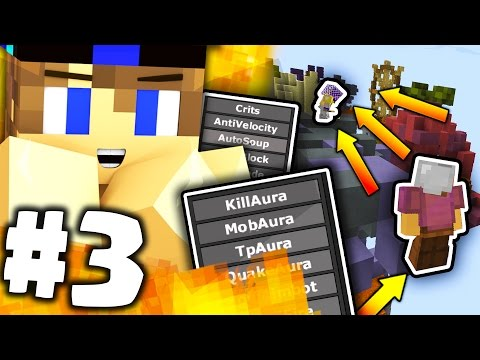 TROLLO UN HACKER USANDO LA FLY-HACK !!! - TROOOLAURA | Minecraft ITA #3 [CHEAT]