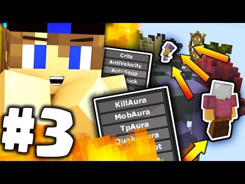 TROLLO UN HACKER USANDO LA FLY-HACK !!! - TROOOLAURA | Minecraft ITA #3 [CHEAT]