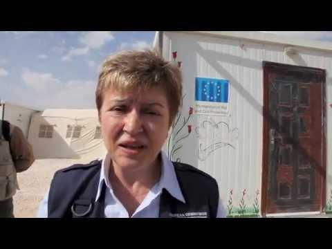 Kristalina Georgieva (ECHO) - What future for the children of Syria?