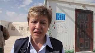 Kristalina Georgieva (ECHO) - What future for the children of Syria?