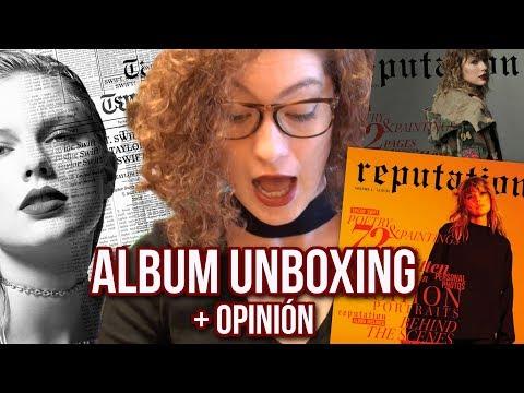 Taylor Swift REPUTATION DELUXE   unboxing y reacción al album