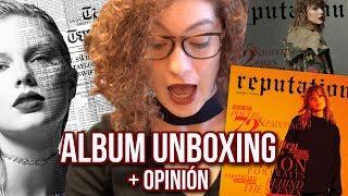 Taylor Swift REPUTATION DELUXE | unboxing y reacción al album
