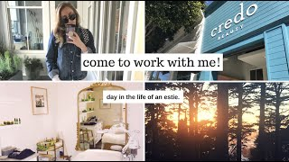 ESTIE DAY IN THE LIFE | GRWM + MY SELF CARE AFTER WORK